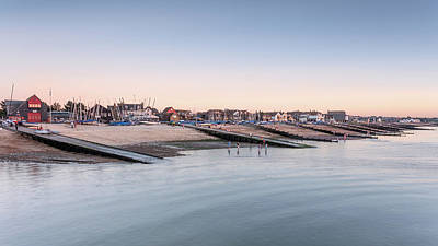 Whitstable Bay  Print by Ian Hufton