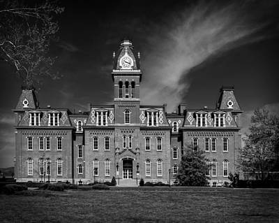 Woodburn Hall - West Virginia University Print by Mountain Dreams