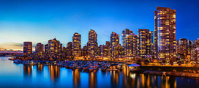 Marina Photograph - Yaletown From Cambie Bridge by Alexis Birkill