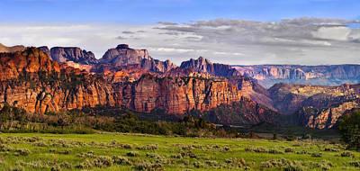 Kolob Photograph - Zion National Park Utah by Utah Images