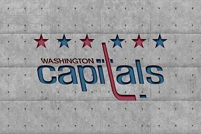 Washington Capitals Print by Joe Hamilton