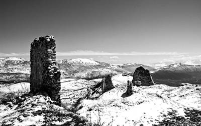Castle Photograph - 200 Years Ago, On An Icy Planet... by Andrea Mazzocchetti