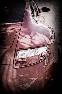 2006 Photograph - 2006 Porsche 911 Tail Light -0026ac by Jill Reger