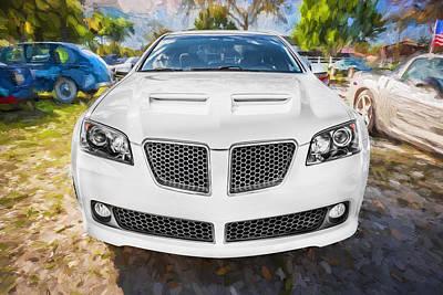 2008 Pontiac Gt8 Painted  Print by Rich Franco