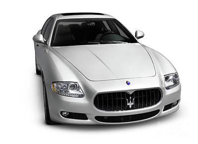 2009 Maserati Quattroporte S Print by Oleksiy Maksymenko