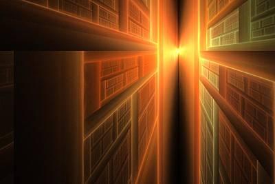 Apo Digital Art - 2011 A Fractal Odyssey by Lyle Hatch