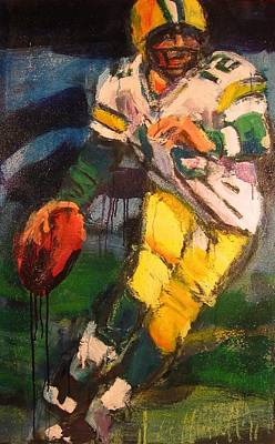 Aaron Rogers Painting - 2011 Mvp by Les Leffingwell