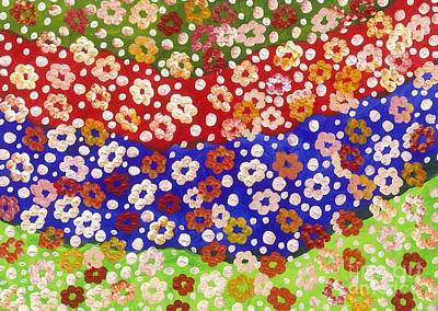 2014 The Blossoming Flowers 14 Original by Danny S Y Lee