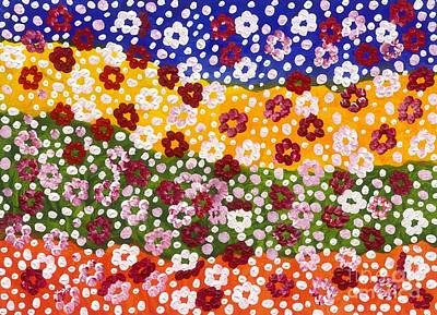 2014 The Blossoming Flowers 15 Original by Danny S Y Lee