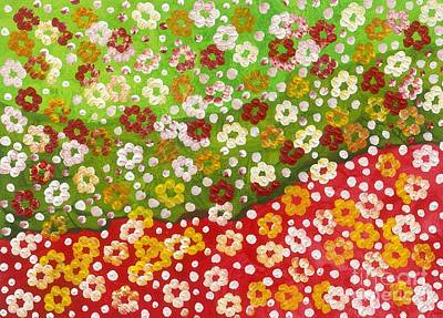 2014 The Blossoming Flowers 11 Original by Danny S Y Lee
