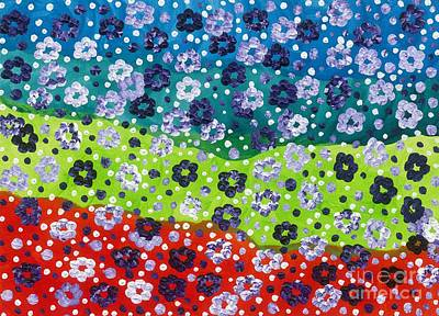 2015 The Blossoming Flowers 04 Original by Danny S Y Lee