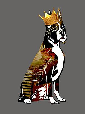 Poster Mixed Media - Boxer Collection by Marvin Blaine