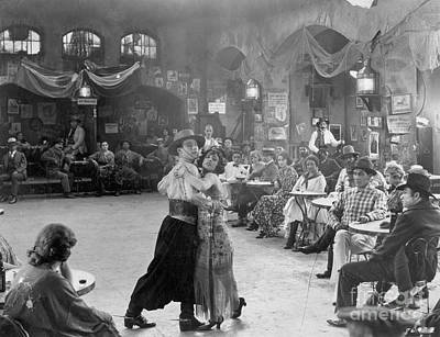 Dance Floor Photograph - Rudolph Valentino by Granger