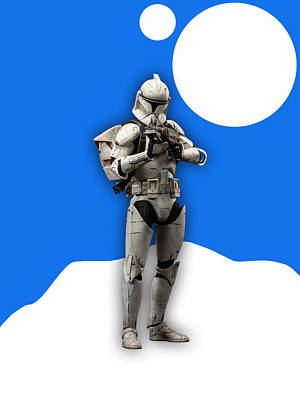Movie Mixed Media - Star Wars Stormtrooper Collection by Marvin Blaine