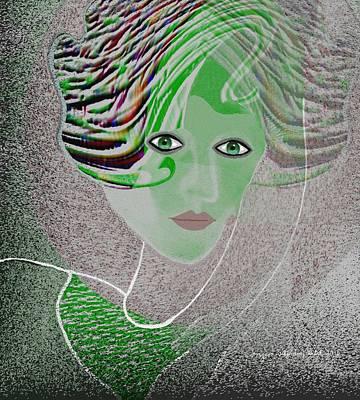 211 - Anna Portrait   Print by Irmgard Schoendorf Welch