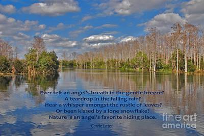 22- An Angel's Breath Print by Joseph Keane