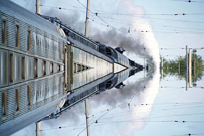 Outer Space Mixed Media - 22nd Century Floating Cities Power Storage by Thomas Woolworth