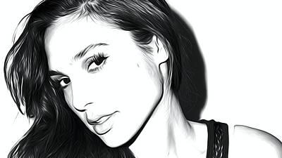 Ben Affleck Digital Art - Gal Gadot Art by Best Actors