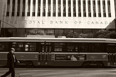 Royal Bank Of Canada Photograph - Toronto by Pierre Roussel