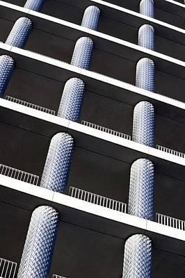 Brick Building Photograph - Apartment Building by Tom Gowanlock