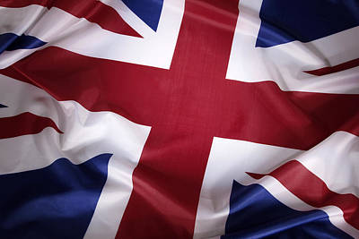 British Flag Print by Les Cunliffe
