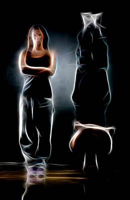 Music Digital Art - Floor Dance by Michael Vicin