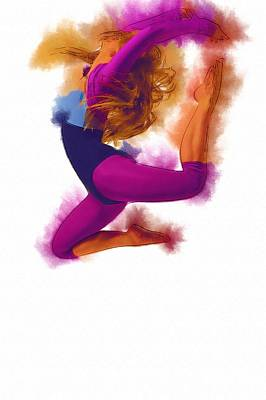 Music Digital Art - How Dance by Michael Vicin