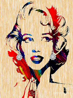 Star Mixed Media - Marilyn Monroe Collection by Marvin Blaine