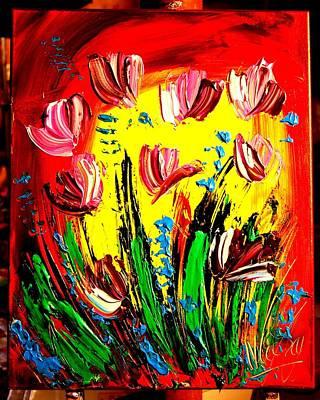 Tulips Print by Mark Kazav