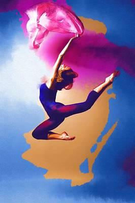 Michael Digital Art - The Dance by Michael Vicin
