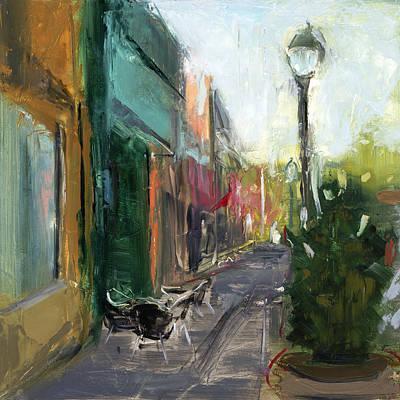 Scoop Painting - Rcnpaintings.com by Chris N Rohrbach