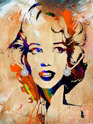 Marilyn Monroe Collection Print by Marvin Blaine