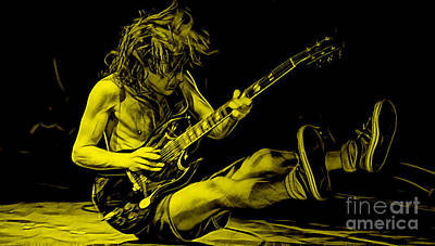 Acdc Collection Print by Marvin Blaine
