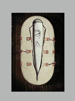 2012 Digital Art - American Horror Story Asylum 2012 by Caio Caldas