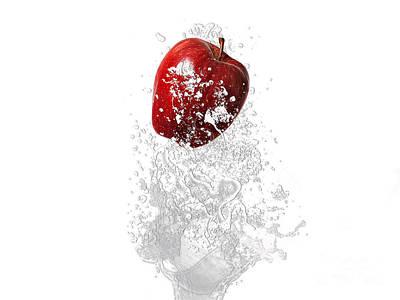 Tree Mixed Media - Apple Splash by Marvin Blaine