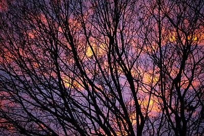 Autumn Sky Print by Konstantin Dikovsky