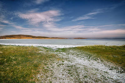 Runway Photograph - Barra Airport by Stephen Smith