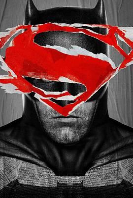 Horror Digital Art - Batman V Superman Dawn Of Justice 2016  by Caio Caldas