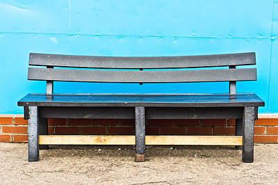 Bench Print by Tom Gowanlock