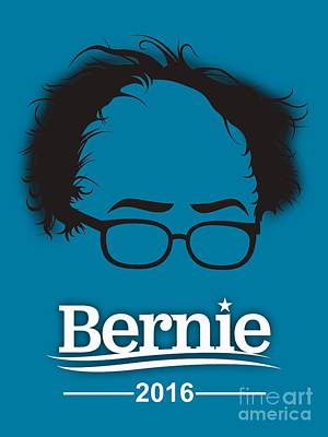 Politicians Mixed Media - Bernie Sanders by Marvin Blaine