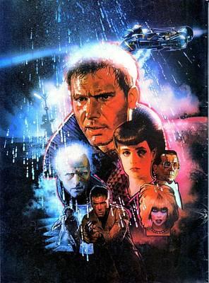 Horror Digital Art - Blade Runner 1982 by Caio Caldas
