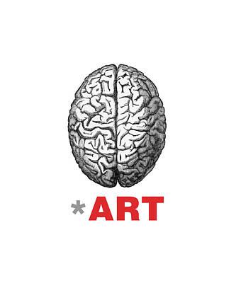 Brain Fart Print by Craig McCausland