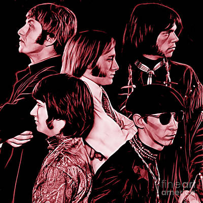 Poster Mixed Media - Buffalo Springfield Collection by Marvin Blaine