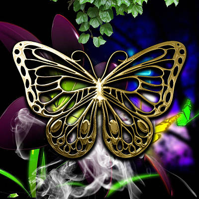 Butterfly Collection Print by Marvin Blaine