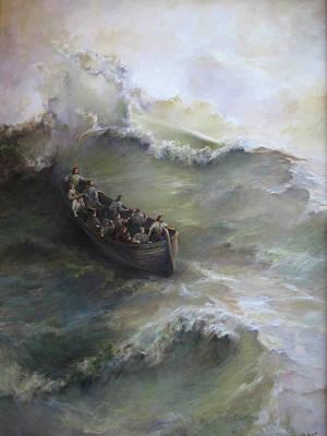Calming The Storm Print by Tigran Ghulyan