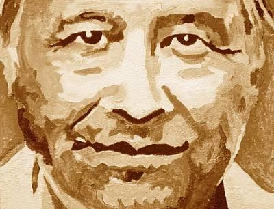 Cesar Chavez Painting - Cesar Chavez by Randy Segura