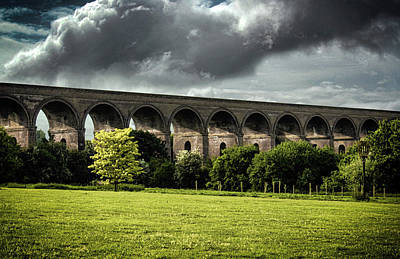 Viaduct Photograph - Chappel Viaduct by Martin Newman