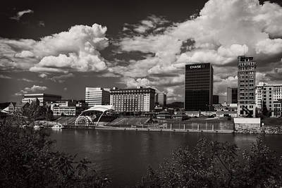 Charleston West Virginia Waterfront Print by Mountain Dreams