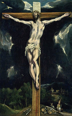 Crucifixion Painting - Christ On The Cross by El Greco