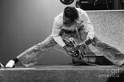 Chuck Berry Print by Terry O'Neill
